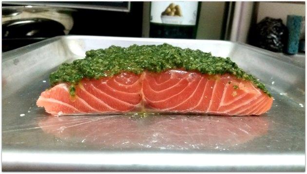 Pesto Salmon 2